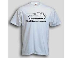 T-Shirt Panzerkampfwagen Maus / mehr Infos auf: www.Guntia-Militaria-Shop.de