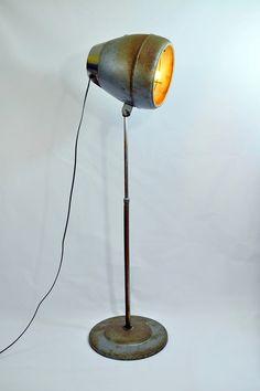 Vintage Montgomery Ward Hair Dryer Repurposed Floor Lamp $185.00