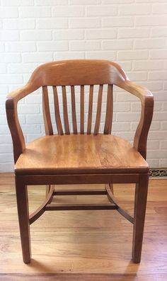 Vintage Bankers Chair/ Library Chair/ Boling Chair/ North