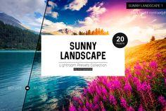 Sunny Landscape Lightroom Presets by Tim Root on @creativemarket