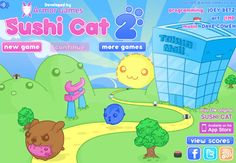 Adore all #Sushi #Cat games, especially this one.  Sushi + cats (and Japanese whimsy) = fun!!