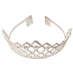 Corona Tiara Diadema Pinza Nupcial Novia Boda Diamante de Imitación Diamante CR100 es.tmart.com #corona #tiara #diadema #crown #novia #nupcial #wedding #boda #fiesta #evento #queen #princesa #princess #reina #moda #belleza #beauty #plata #birthdayparty #makeupparty #party #regalo #gift #girl #wishlist #navidad #christmas #tmart #Tmart #joyas #joyeria #jewellery #pulsera #anillo #pendiente #collar #silver #oro #lujo #accesorios #bridal #headband #plata