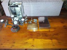 Bak met foto's Leen Bakker 12.95 Kaarsenstandaard Londen 8 pond Koper en metalen dozen per stuk 1 euro kringloop Rest lieve spulletjes van mijn moeder