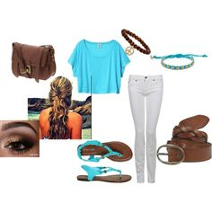 Casual, created by agzirtzman on Polyvore
