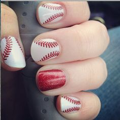 Curve Ball with Red Sparkle!!!!!