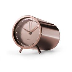 LEFF Amsterdam Piet Hein Eek Tube Desk Clock - Copper
