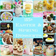 Couponing & Cooking: Huge Easter Desserts Round Up- 25+ Sweet Treats for Spring