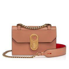 Elisa Mini COURTISANE Calf - Handbags - Christian Louboutin 4191950 Louboutin Shoes, Christian Louboutin, New Handbags, Ancient Egypt, Dusty Pink, World Of Fashion, Mini Bag, Luxury Branding, Calves