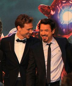 robertdowneyjr: everyone meet Mr Thomas William Downey, we eloped and got married and I love him to piecestagged: twhiddleston