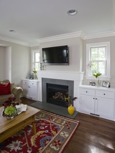 Traditional Family Room Design, Pictures, Remodel, Decor and Ideas - page 14