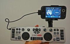 dj'ing with you iphone!! (ion audio idj2go)