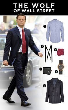 Get the look - The wolf of wall street.
