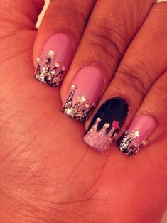 Finger Nails Fit for a Queen - Learn more great makeup tips by becoming a VIP Girl - ThePageantPlanet.com