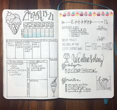 Here are some examples of weekly spread ideas for your bullet journal, by me and…