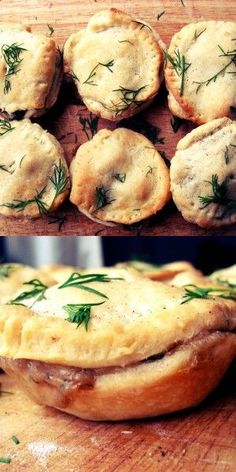 Tofu and Mushroom Mini-Pies - Vegan and SO delicious!