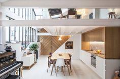 Um loft em Paris
