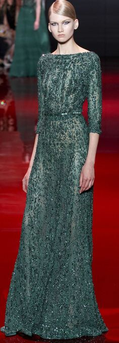 Elie Saab Haute Couture Autumn 2013. THIS was the one that took my heart. | Favourites @ eleanoraretif.com