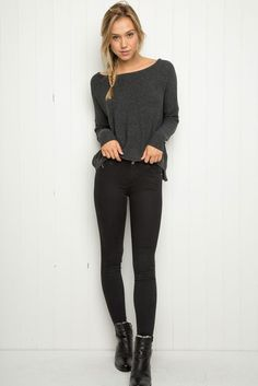 ☪❃↟❂☼~ AbbyBartel01 Brandy ♥ Melville | Leah Sweater - Sweaters - Clothing