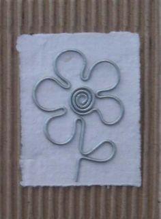 wire flower by jenniflower74.deviantart.com