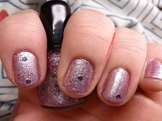 Hot pink by My nail polish is poppin, via Flickr