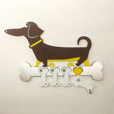 Сувениры и подарки на Новый год - Foam Crafts, Wooden Crafts, Diy And Crafts, Fun Projects, Wood Projects, Laser Cutter Projects, Dachshund Love, Scroll Saw Patterns, Dog Signs