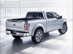 Ford's concept version of the 2015 Ford F-150 Atlas