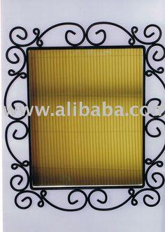 Imgalibaba Photo 106298825 Wrought Iron Mirror Frame