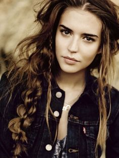 Enjoyable 1000 Images About Bohemian Hairstyles And Makeup On Pinterest Short Hairstyles Gunalazisus