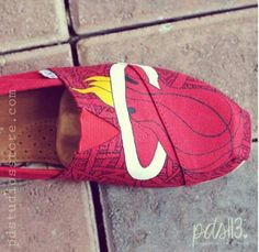 7298f4ebe42 I would definitely rock these toms Miami Heat Basketball