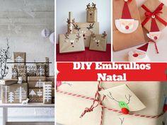Ideias Originais para Embrulhos de Natal - http://decoracao24.com/ideias-originais-para-embrulhos-de-natal/