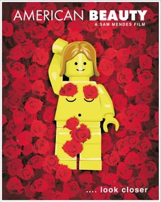 Lego Movie Poster: American Beauty