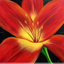resultado de imagen para cuadros modernos de flores blancas