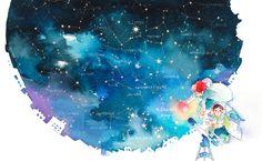Antaresα Scorpiiあるいは、蠍の心臓 …………………………………..星図参考:Every Starry Night AI ( hoshifuru.jp )