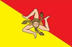 Bandiera e colori siciliani