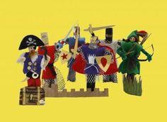 Buttonbag Adventure Peg Doll Craft Kit £11.69
