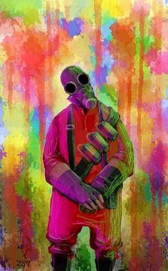 Pyro color explosion- This is really pretty Team Fortress 2, Tf2 Pyro, Nerd Geek, Best Games, Overwatch, Game Art, Cool Art, Video Games, Gaming