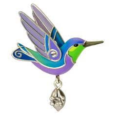 Beauty of Birds Hummingbird Mini Ornament