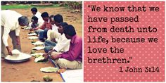 Happy #Valentines Day from www.christianaid.org! 1 John 3:14