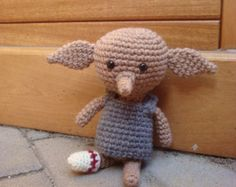 Crochet House Elf by AmiAmie on Etsy