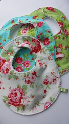 Trio of Baby Bibs by BabyBunniesBoutique on Etsy Baby Bibs, Gift Ideas, Unique Jewelry, Handmade Gifts, Etsy, Vintage, Manualidades, Bibs, Kid Craft Gifts