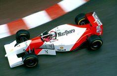 Mónaco Michael Andretti - Mclaren Ford 1993