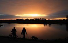 #Zonsondergang bij #Zutphen door @CarolienBentink
