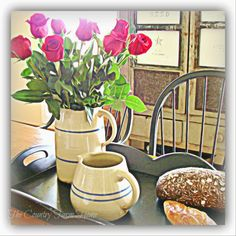 The Country Farm Home: SUNDAY: Roses and Thorns