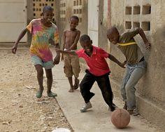 Kickball in OFEDA