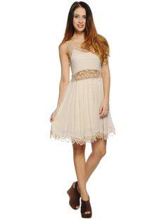 Khujo Dress, beige