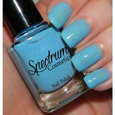 Puddle Jumping Pastel Blue Spring Nail Polish (€3,72) ❤ liked on Polyvore featuring beauty products, nail care, nail polish, bath & beauty, grey, makeup & cosmetics, nail polishes, nails, blue grey nail polish and gray nail polish