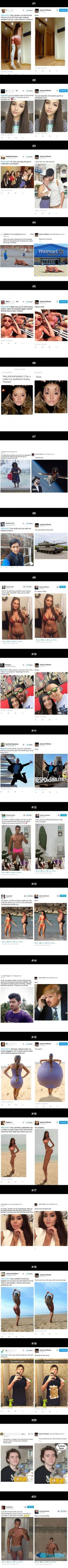 21 Reason Why You Should (Never) Ask This Guy To Photoshop Your Photos (By James Fridman)