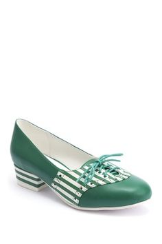 c7602cf4b8f Alice Stripe Lace-Up Heel I love these! Lace Up Heels