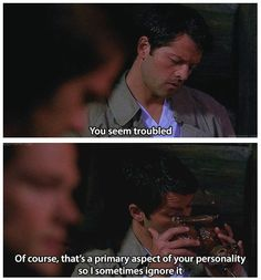 Primary aspect of your personality. #Supernatural