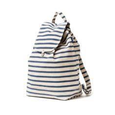 Backpack in Sailor Stripe | Darling Clementine